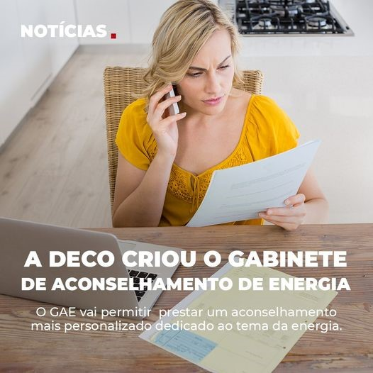 DECO abre Gabinete de Aconselhamento de Energia